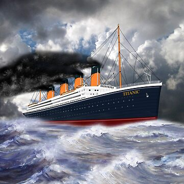 RMS Titanic the Legend 1912 by ZipaC