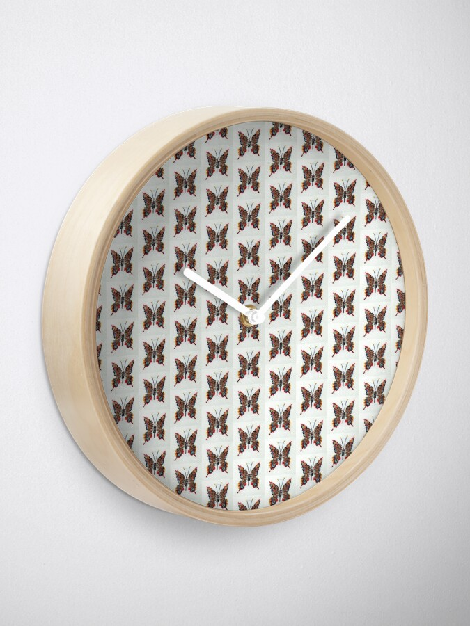 Alternate view of Butterfly Clock