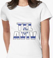 Tel Aviv Women's Fitted T-Shirt