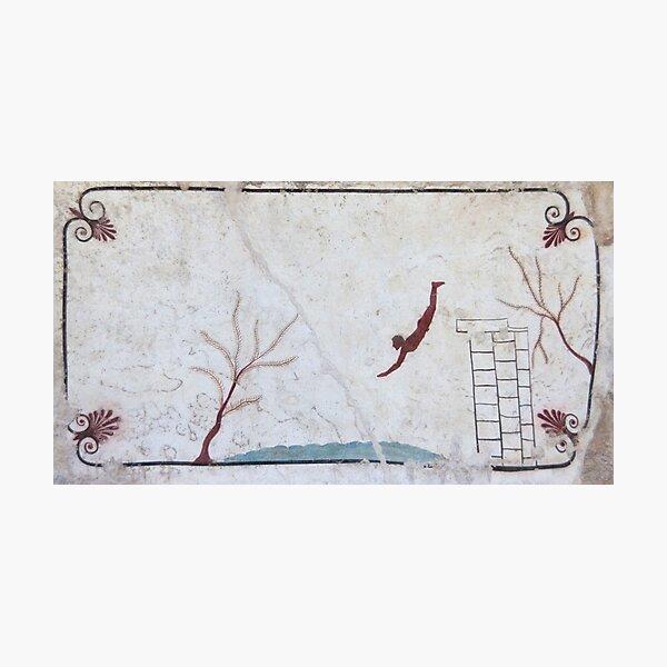 Tomb of the Diver, Paestum Photographic Print