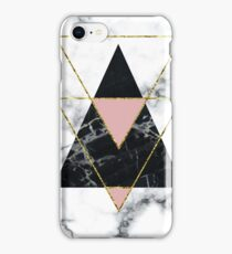 Geo glam marble iPhone Case/Skin