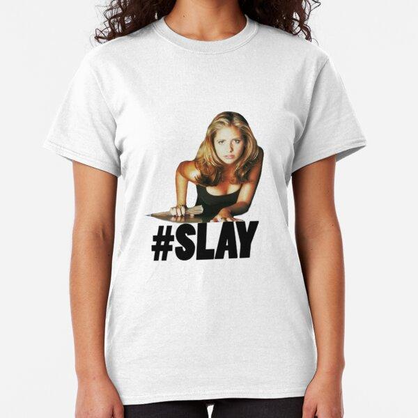 #SLAY - Buffy the Vampire Slayer Classic T-Shirt