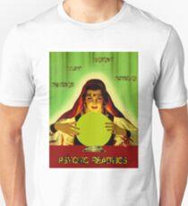 PSYCHIC READINGS: Gypsy Fortune Teller Print Unisex T-Shirt