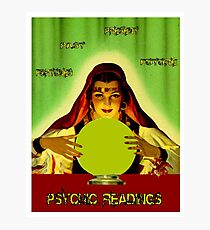 PSYCHIC READINGS: Gypsy Fortune Teller Print Photographic Print