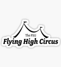 FSU Flying High Tent Sticker