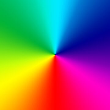 Rainbow color swirl by PixelRider