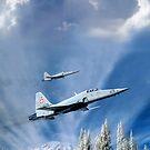 Digital Aviation Art by Bob Martin