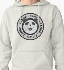 Panda Logo Pullover Hoodie
