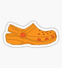 orange croc Sticker