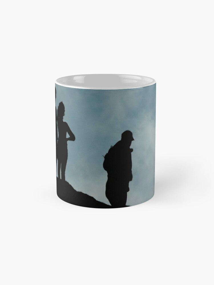 Alternate view of shadows on the hilltop  Mug