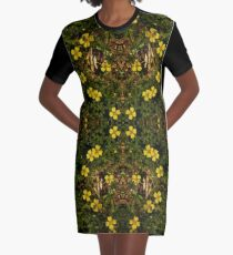 Tormentil in Shalwy Valley Graphic T-Shirt Dress