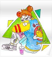 egg girl Poster