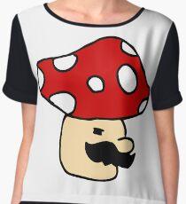 Mario Mushroom Chiffon Top