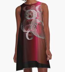 Spirals A-Line Dress