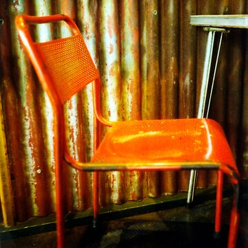 Red Chair  by Cameron