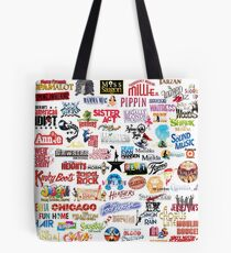 Musical Theatre Greats Tote Bag