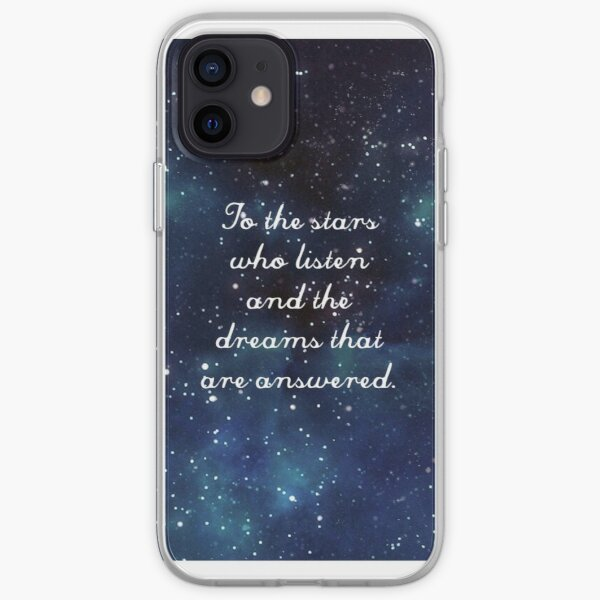 ACOMAF To the stars who listen iPhone Soft Case