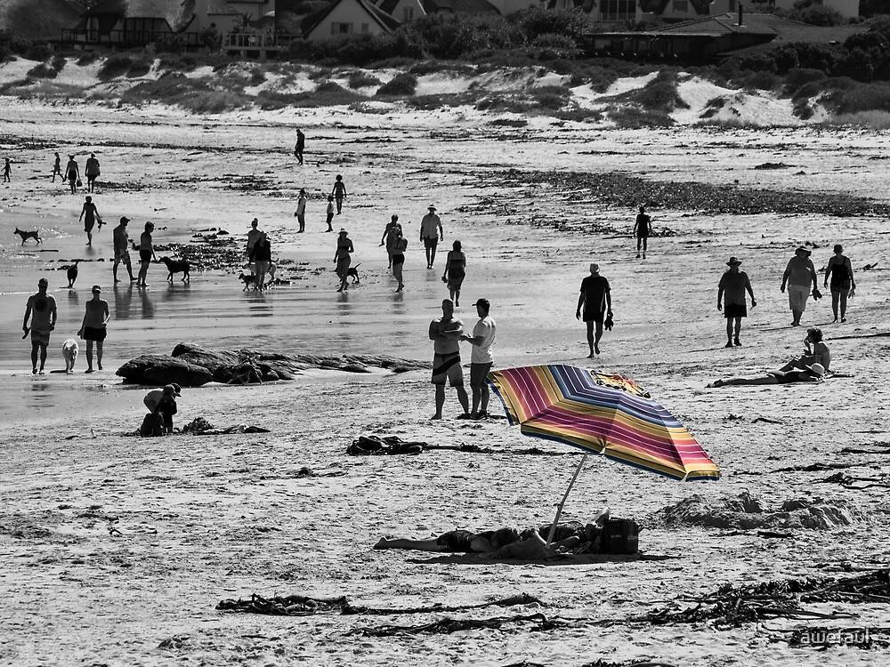 Rainbow umbrella by awefaul