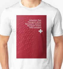Swiss Passport Unisex T-Shirt