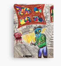 It Came Upon a Midnight Clear Canvas Print