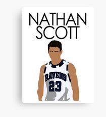 NATHAN SCOTT - ONE TREE HILL Canvas Print
