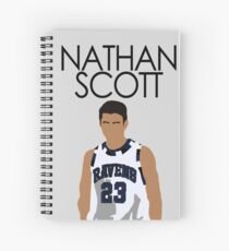 NATHAN SCOTT - ONE TREE HILL Spiral Notebook