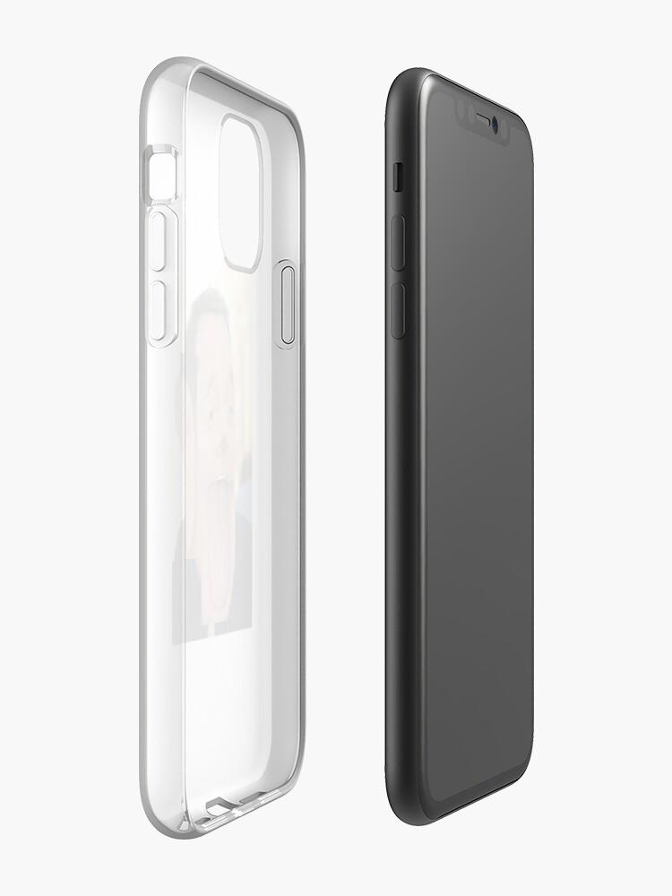 Coque iPhone «Kevin James», par altizzy