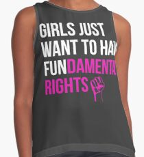 Girls Just Want To Have Fundamental Rights Contrast Tank