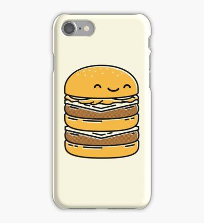 Happy Burger  iPhone Case/Skin