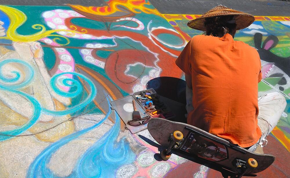 Abstract Skateboarding by Eyal Nahmias