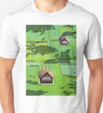 Rice paddy field Unisex T-Shirt