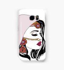 Pink Dulhan  Samsung Galaxy Case/Skin