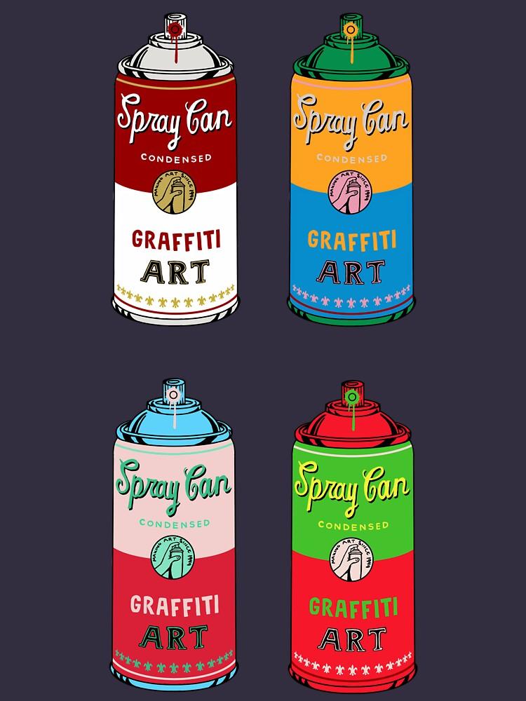Spray can art by coffeeman