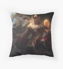 God Fist Lee Sin Throw Pillow