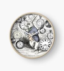 White Rabbit Alice in Wonderland Watches Time Clock