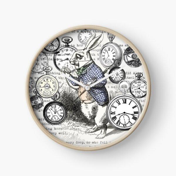 White Rabbit Alice in Wonderland Watches Time Clock