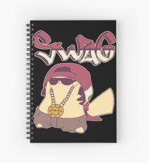 Swagachu Pikaswag Thugachu Spiral Notebook