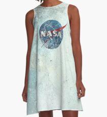 NASA Space Agency Ultra-Vintage A-Line Dress