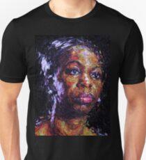 Black is the colour of my true love's hair - Nina Simone Unisex T-Shirt