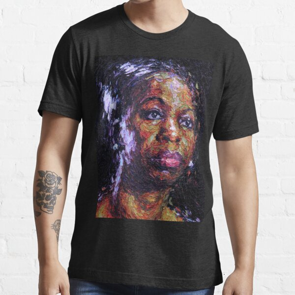 Black is the colour of my true love's hair - Nina Simone Essential T-Shirt