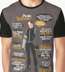 Shiro Quotes Graphic T-Shirt