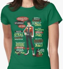 Keith Quotes Womens Fitted T-Shirt