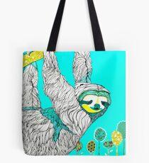 Spring Sloth Tote Bag