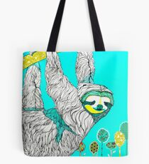Spring Sloth Tote Bag