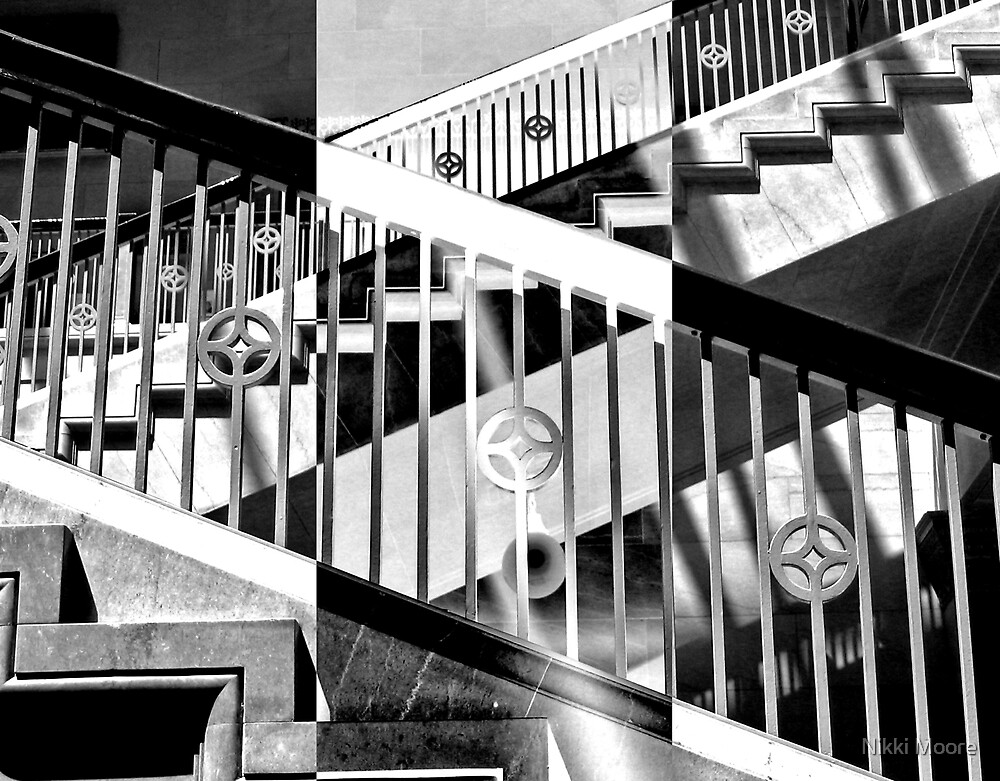 Zebra Geometry by Nikki Moore