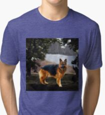 The German Shepherd Tri-blend T-Shirt