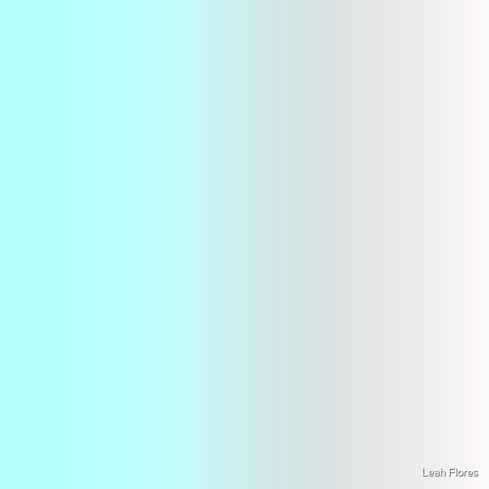 Aqua Ombre by Leah Flores