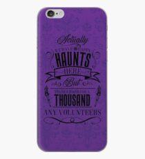 Haunted Mansion-Happy Haunts iPhone Case