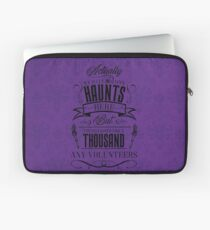 Haunted Mansion-Happy Haunts Laptop Sleeve