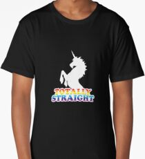 Totally Straight Long T-Shirt